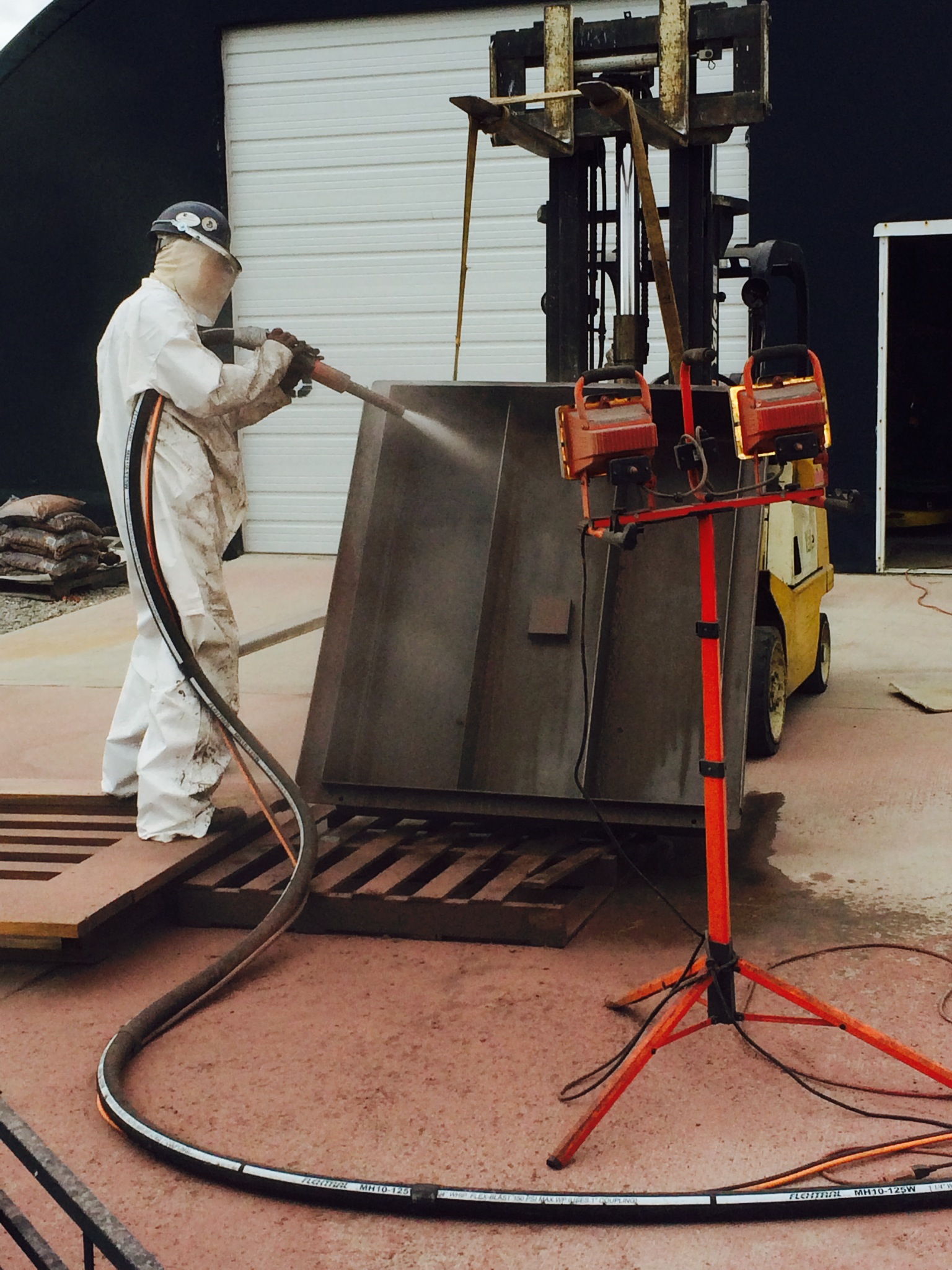 Sandblasting Projects Lehn Painting